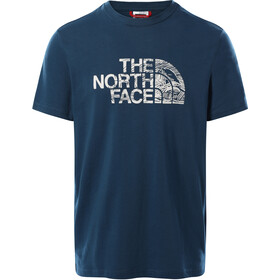 The North Face Woodcut Dome SS T-shirt Herrer, blå